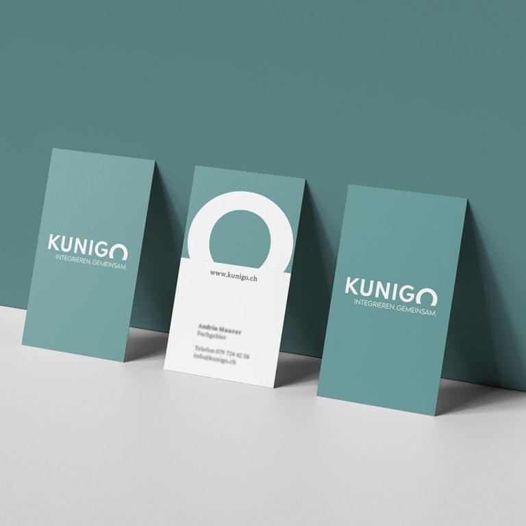 Kunigo Visitenkarte